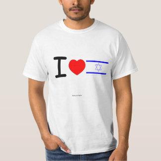 I Love Israel, wt. T-Shirt