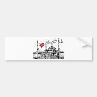 I love Istanbul Bumper Sticker