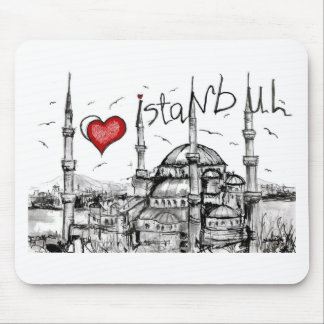 I love Istanbul Mousepads