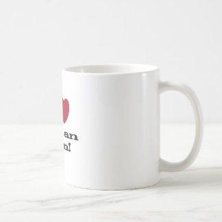 I Love Italian Men Basic White Mug