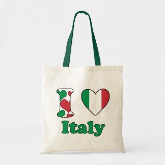 I love Italy Budget Tote Bag