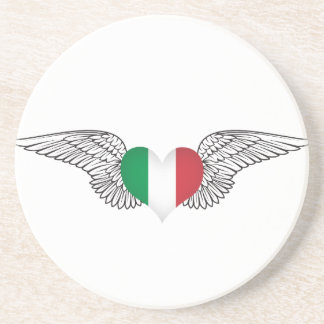 I Love Italy -wings Coaster