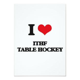 I Love Ithf Table Hockey Card