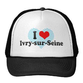 I Love Ivry-sur-Seine France Hats