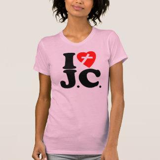 I LOVE J.C. TEE SHIRTS