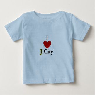 I LOVE J  (jerusalem) CITY baby T-shirt