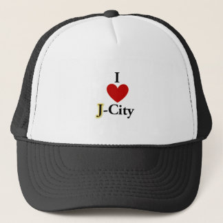 I LOVE J  (jerusalem) CITY hat