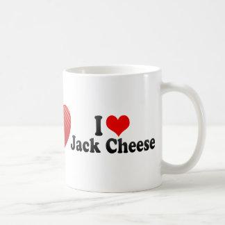 I Love Jack Cheese Coffee Mug