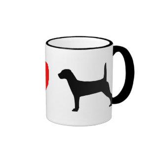 I Love Jack Russell Terriers Mug