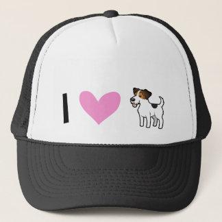 I Love Jack Russell Terriers Trucker Hat