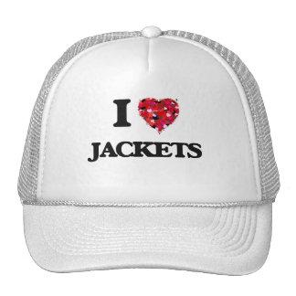 I Love Jackets Cap