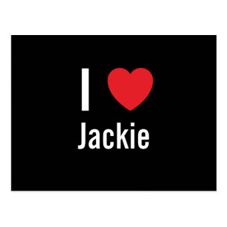 I love Jackie Postcards