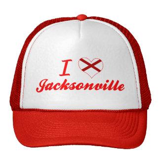 I Love Jacksonville, Alabama Mesh Hat