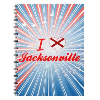 I Love Jacksonville, Alabama Notebook