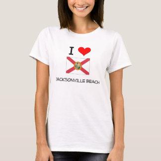 I Love JACKSONVILLE BEACH Florida T-Shirt