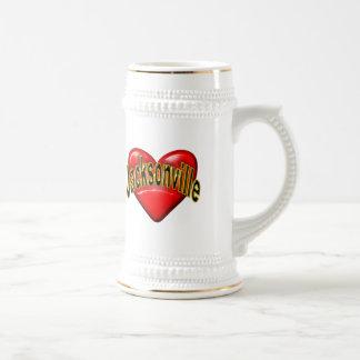 I Love Jacksonville Beer Steins