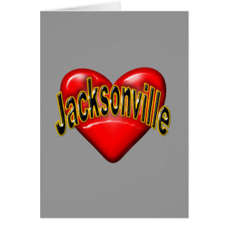 I Love Jacksonville Greeting Cards