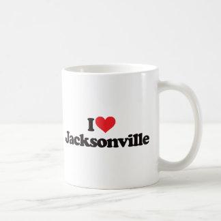 I Love Jacksonville Coffee Mug