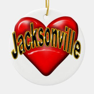 I Love Jacksonville Ornaments