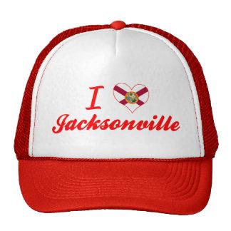 I Love Jacksonville, Florida Hat