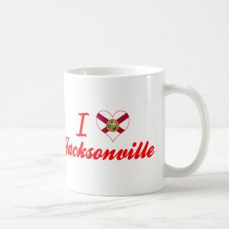 I Love Jacksonville, Florida Coffee Mug