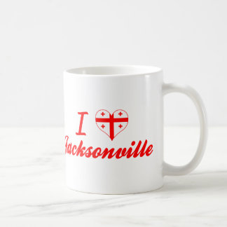 I Love Jacksonville, Georgia Mugs
