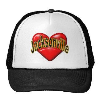 I Love Jacksonville Hats