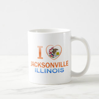 I Love Jacksonville, IL Mug