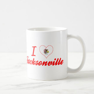 I Love Jacksonville, Illinois Coffee Mug