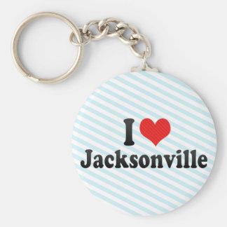 I Love Jacksonville Key Chains