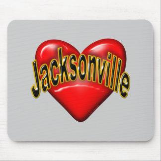 I Love Jacksonville Mouse Pad