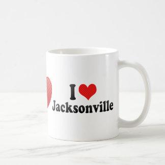 I Love Jacksonville Coffee Mugs