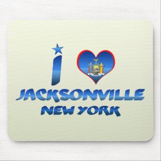 I love Jacksonville New York Mousepads