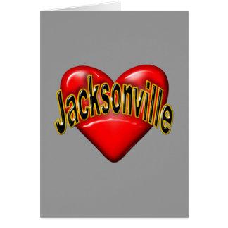 I Love Jacksonville Note Card