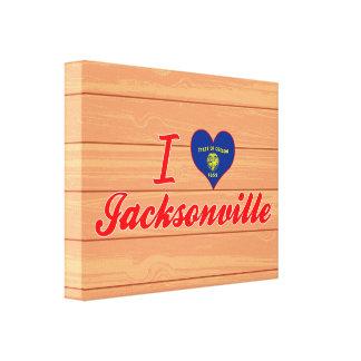 I Love Jacksonville Oregon Gallery Wrap Canvas
