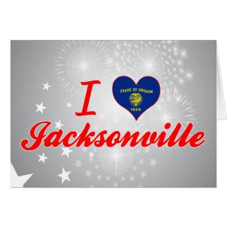 I Love Jacksonville, Oregon Cards