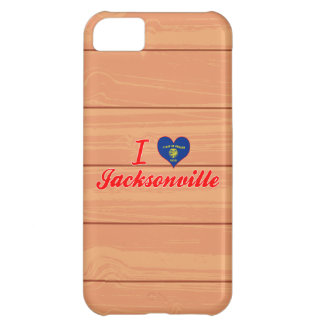 I Love Jacksonville Oregon iPhone 5C Cases