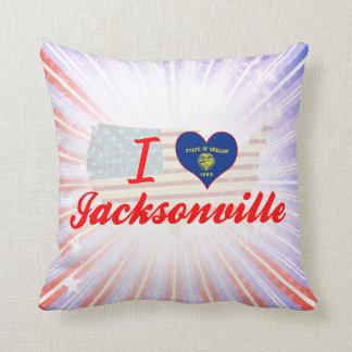 I Love Jacksonville Oregon Pillow