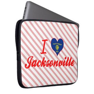 I Love Jacksonville Oregon Laptop Computer Sleeves