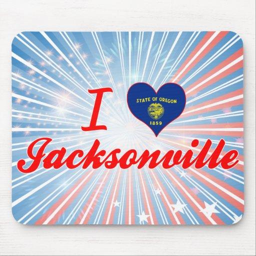 I Love Jacksonville, Oregon Mousepads