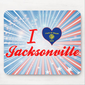 I Love Jacksonville Oregon Mousepads