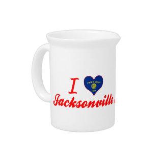 I Love Jacksonville Oregon Drink Pitchers
