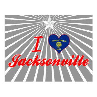 I Love Jacksonville, Oregon Postcard