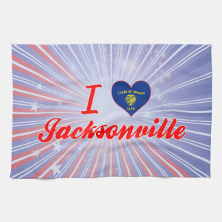 I Love Jacksonville, Oregon Towels