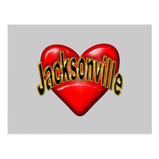 I Love Jacksonville Postcard