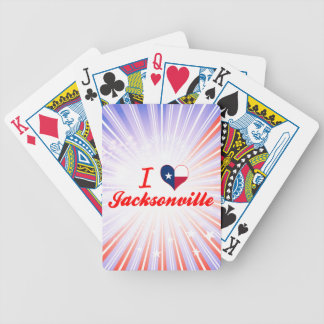 I Love Jacksonville Texas Bicycle Card Decks