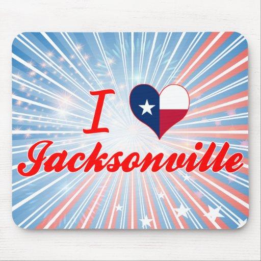 I Love Jacksonville, Texas Mousepad