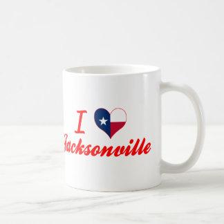 I Love Jacksonville, Texas Mugs