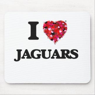 I love Jaguars Mouse Pad