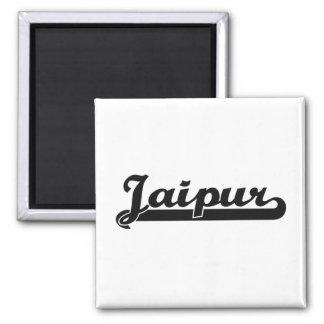 I love Jaipur India Classic Design Square Magnet